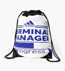 TERMINAL MANAGER Drawstring Bag