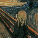 «Scream Paint, Edvard Munch, El Grito» de La Chic