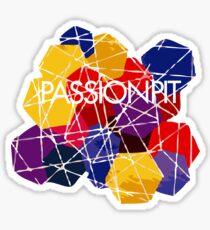 Brocken der Leidenschaft Sticker