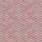 Shiny Shimmering Pink Mermaid Scale by sosweet