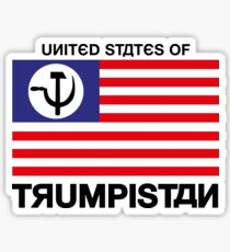 United States of Trumpistan Sticker