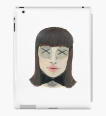 No Eyes Portrait iPad Case/Skin