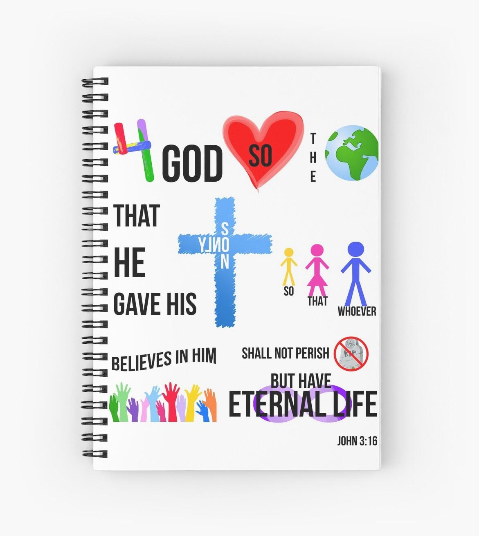 For God So Loved The World John 3:16 by artbyme