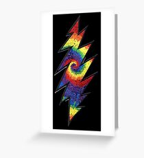 grateful dead path to another universe Greeting Card