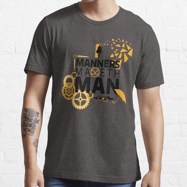 Manners Maketh Man Minimalist Essential T-Shirt