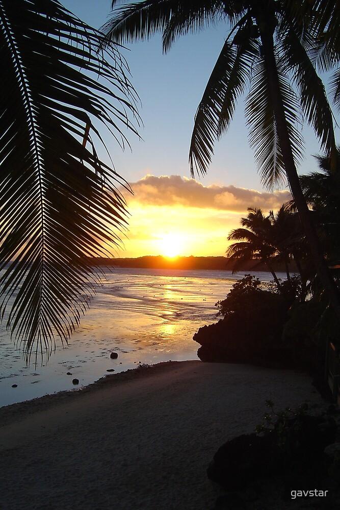 Fijian Sunset by gavstar