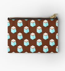 Isometric cappuccino cups pattern. Studio Pouch