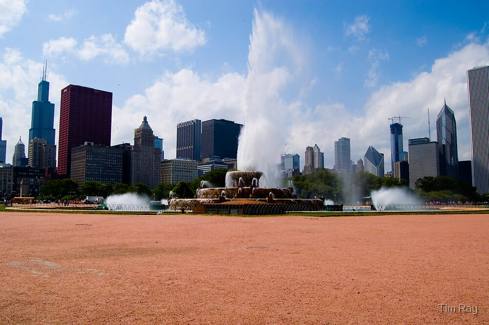 Buckingham Fountain 2 by Tim Ray