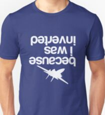 Top gun inverted T-Shirt