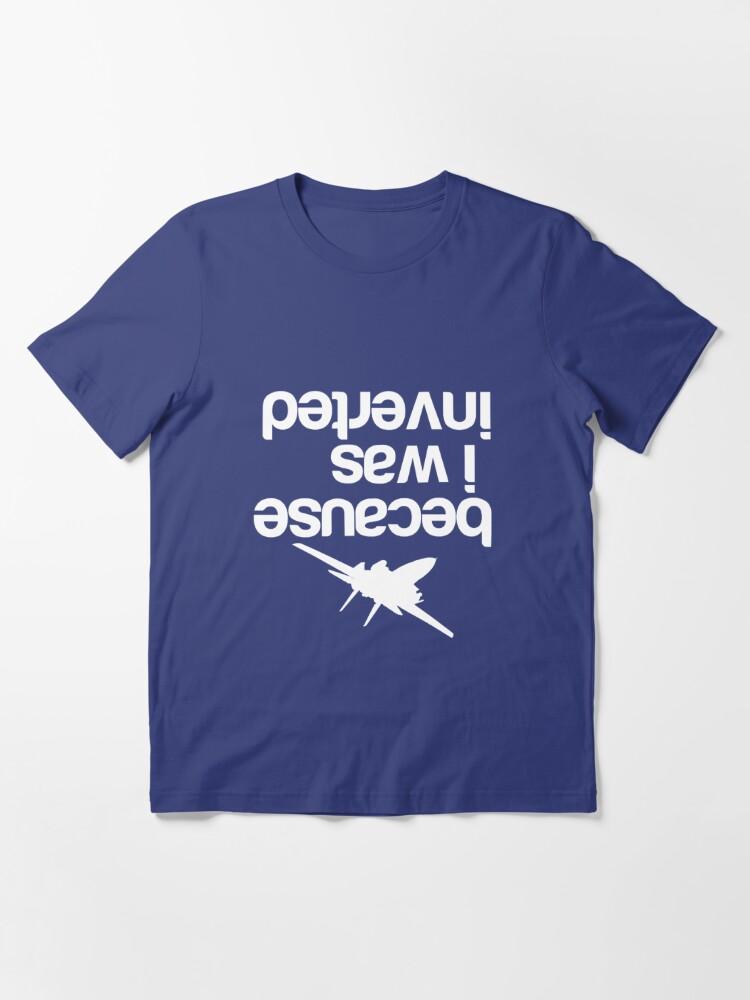 Alternate view of Top gun inverted Essential T-Shirt