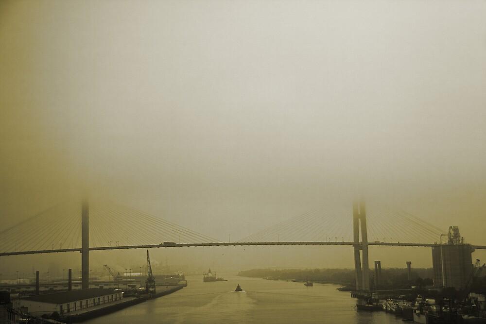 Talmadge Bridge by MClementReilly