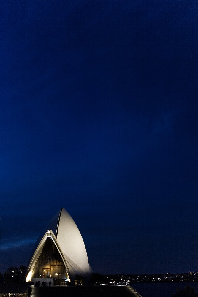 Lonely Sydney Opera House  by Martin K. Lee