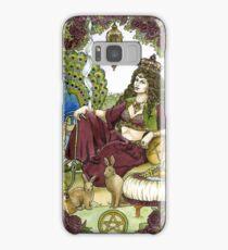 Queen of Pentacles, Card Samsung Galaxy Case/Skin