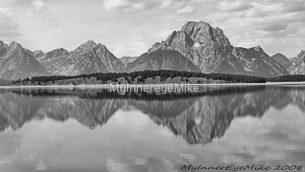 #398  Mountains Reflected On The Lake by MyInnereyeMike