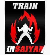 Training like super saiya Poster
