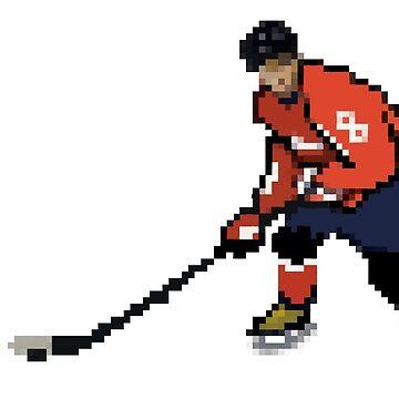 77008ae958a 8 Bit Ice Hockey Player - Alex Ovechkin by ttorikk. Washington Capitals Ice  Hockey Alternate Logo by ttorikk