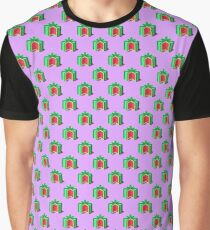 Isometric watermelons pattern. Graphic T-Shirt