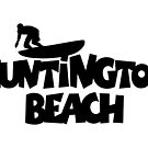 Huntington Beach Surfing by theshirtshops