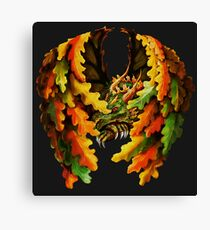 Dragon Oak Canvas Print