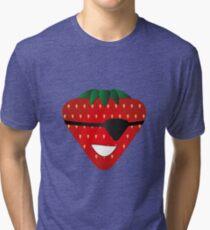 Strawberry Patch Tri-blend T-Shirt