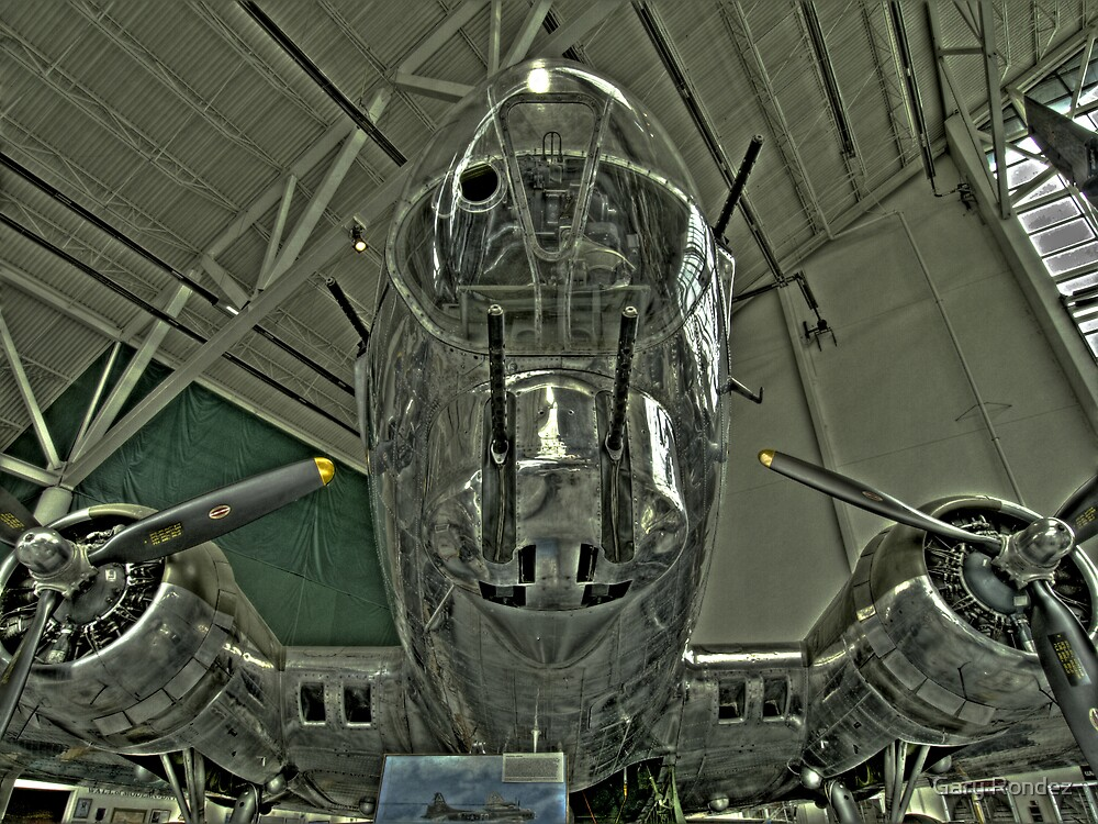 B-17 Flying Fortress  by Gary Rondez