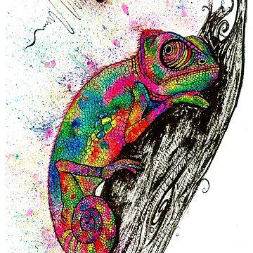 Bizzard the Lizard by ZoJones