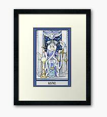 """""""Justice"""" Tarot Card Framed Print"""