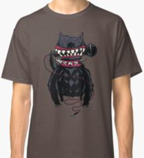 Angry Dog with a Microphone Classic T-Shirt