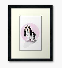 Sad Puppy Framed Print