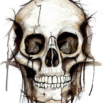 Skully McSkullface. Mr Death Skull by ZoJones
