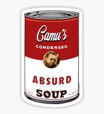 Camus Soup Sticker