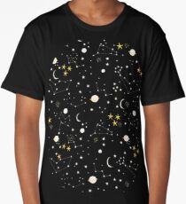 cosmos and stars Long T-Shirt