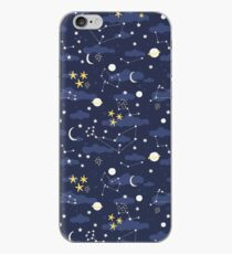 cosmos and stars iPhone Case