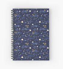 cosmos and stars Spiral Notebook