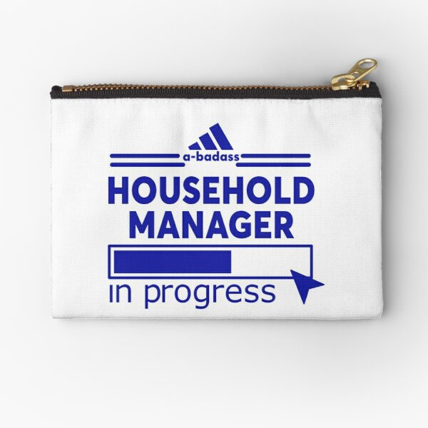 HOUSEHOLD MANAGER Zipper Pouch