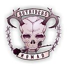 Outriders Nomad Motorcycle patch by FlippingZombies