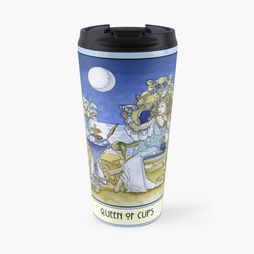 Queen of Cups, Card Travel Mug