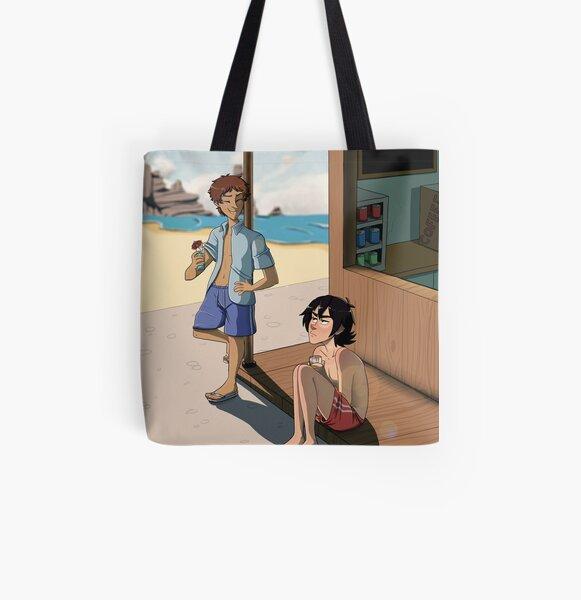 Voltron - Beach Episode All Over Print Tote Bag