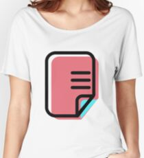 File Women's Relaxed Fit T-Shirt