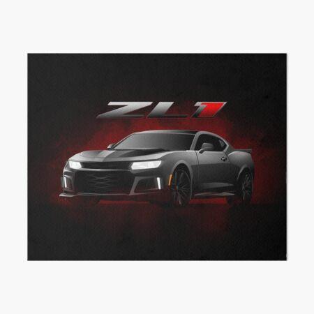 2017 Chevrolet Camaro ZL1 illustration Art Board Print
