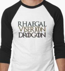 Game of Thrones Dragons Rhaegal Viserion Drogon T-Shirt