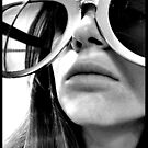 Super Sized Sunglasses by Haley Higgins