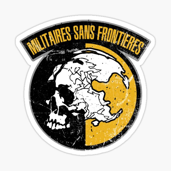 MGS - MSF Logo Sticker