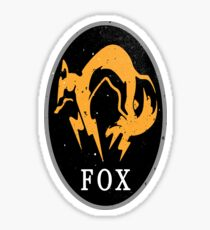 MGS - FOX Logo Sticker