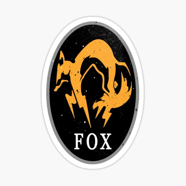 MGS - FOX Logo Sticker