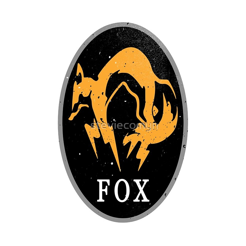 MGS - FOX Logo | Art Print