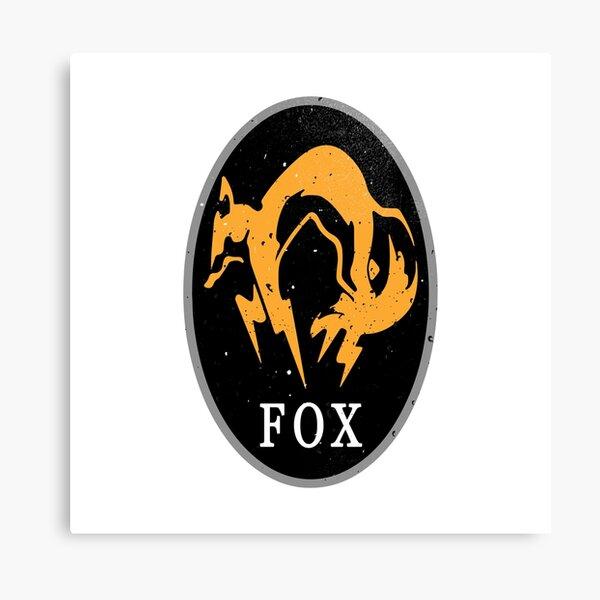 MGS - FOX Logo Canvas Print