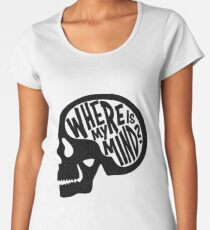 Where is my Mind - Fight Club  Women's Premium T-Shirt
