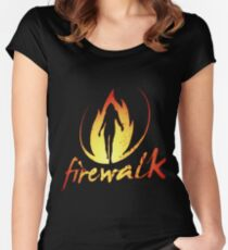 Firewalk Bandlogo - Before the Storm - Life is Strange 1.5 Women's Fitted Scoop T-Shirt