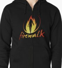 Firewalk Bandlogo - Before the Storm - Life is Strange 1.5 Zipped Hoodie